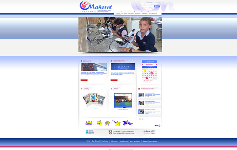 Maharat Super Schools Website