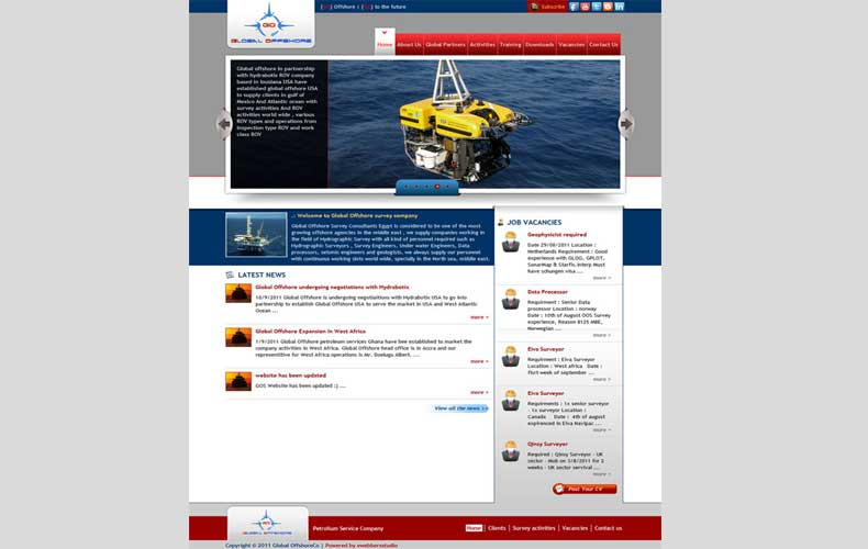 Global Offshore Website and Development