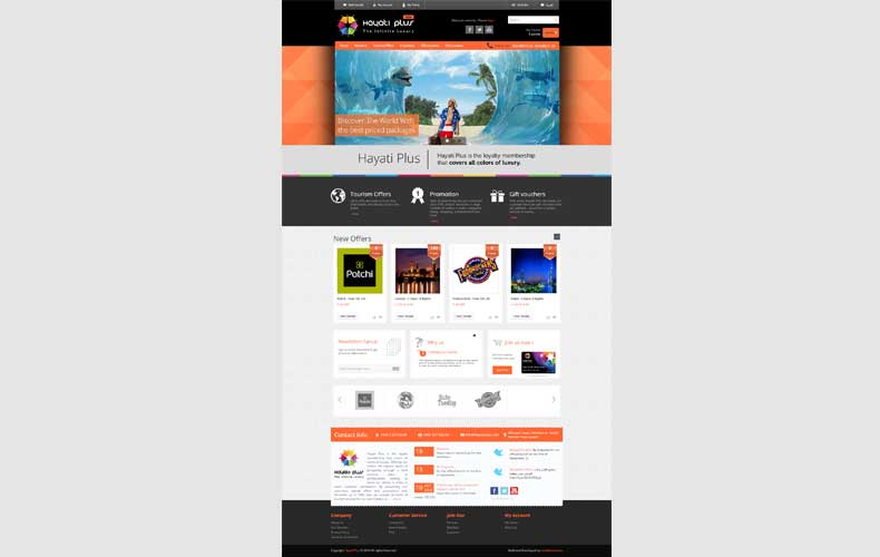 Hayati Plus Website Design and Development