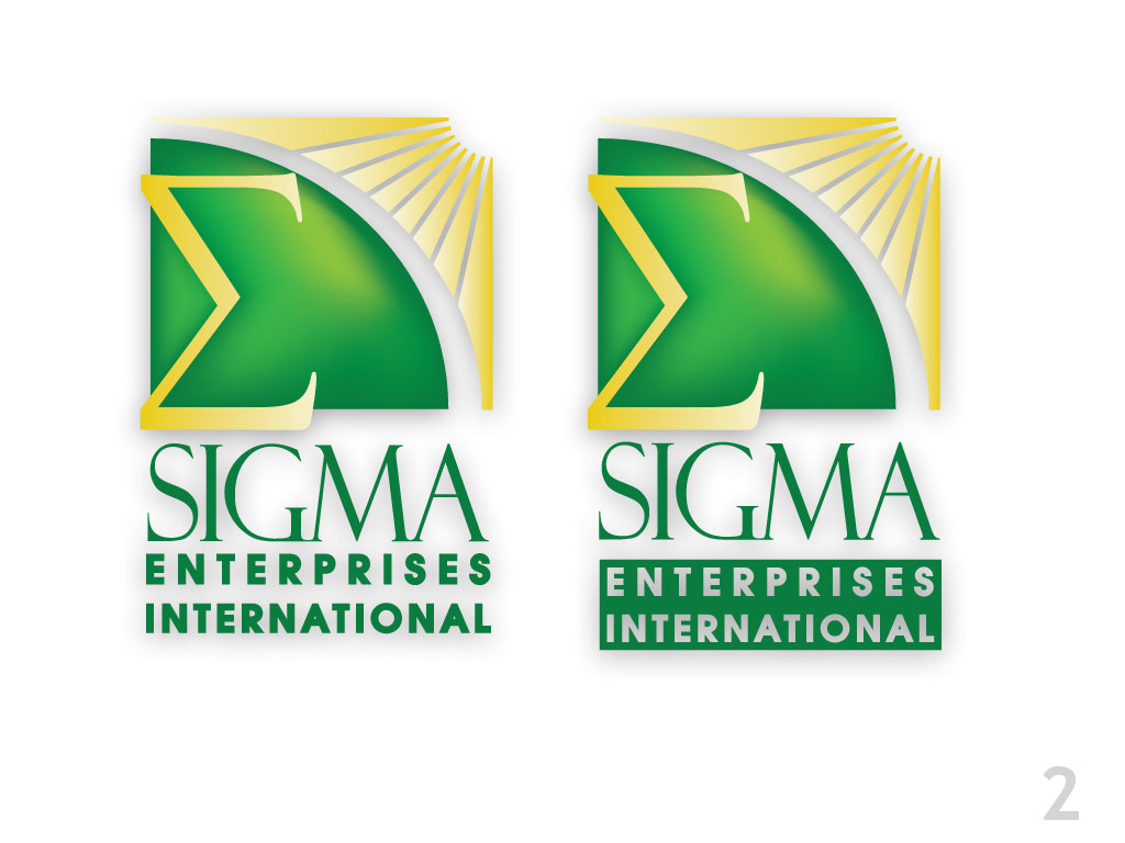 Sigma Enterprise International Branding