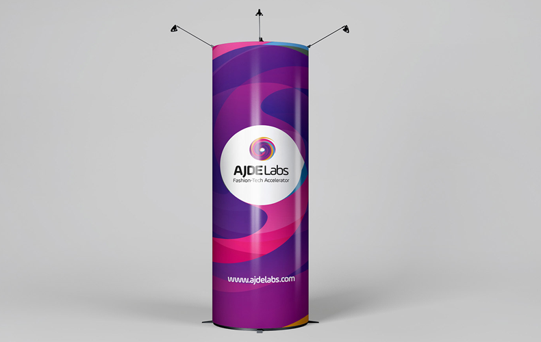 AJDE Labs Booth Design and Implementation