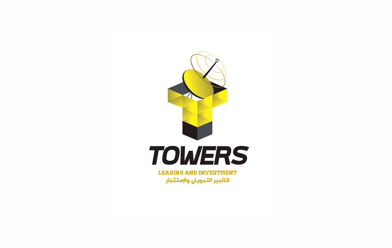 Towers Leasing and Investment Logo Design