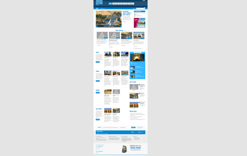 Egypt Easy Trip Website Design and Development
