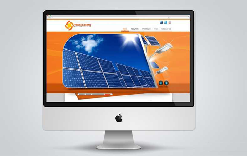 Tawasol Shams Website Design and Development